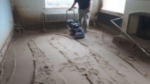 trilmachine voor zand